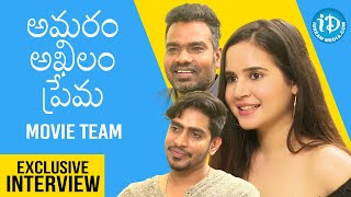 Amaram Akhilam Prema Movie Team Exclusive Interview | Talking Movies With iDream | Bhargav - IDREAMMOVIES