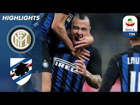 أهداف مباراة إنتر ميلانو وسمبدوريا 2 - 1 (البطولة الايطالية)