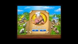 Обзор игры Весёлая ферма печём пиццу