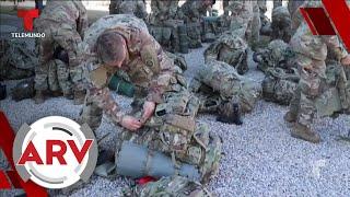 Once soldados de EE. UU. resultaron heridos en ataque de misiles en Irán   Al Rojo Vivo   Telemundo