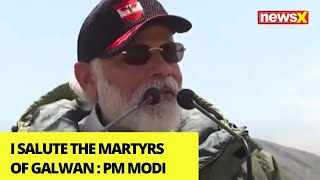 'I Salute the Martyrs of Galwan' | Modi's Address to Galwan Troops |NewsX - NEWSXLIVE