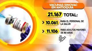 27.995 dosis de Pfizer y Sinovac llegarán a Antioquia- Telemedellín