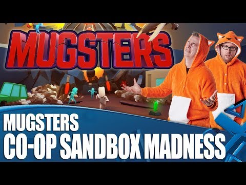 Mugsters - Co-op Sandbox Madness! How Much Will We Argue?