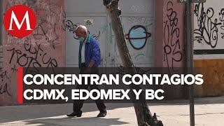 México se acerca a 100 mil casos positivos acumulados de coronavirus