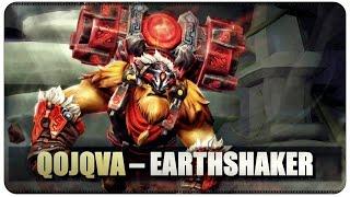 DOTA 2 -  Qojqva - Earthshaker - 25/1/7