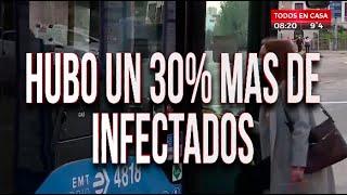 España registró un 30% más de infectados en niños