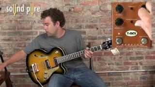 T Rex Replica Pedal Demo w. Duesenberg Carl Carlton Guitar