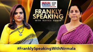 FM Nirmala Sitharaman breaks down stimulus package & More | Frankly Speaking - TIMESNOWONLINE