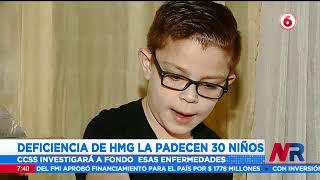 Deficiencia de HMG entre enfermedades raras que padecen algunos niños en el país