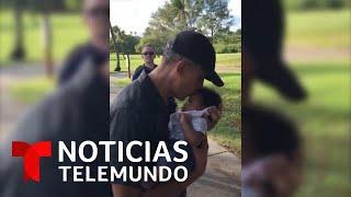 Obama muestra su lado más tierno con una bebita en pleno campo de golf   Noticias Telemundo