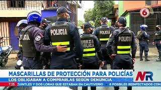 Magistrados advierten al Ministerio de Seguridad que deben comprar la mascarillas a los policías