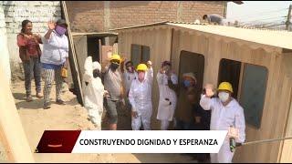 Un grupo de extranjeros que quedaron varados en Lima sorprendieron a una familia de Carabayllo