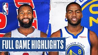 PISTONS at WARRIORS | FULL GAME HIGHLIGHTS | January 4, 2020