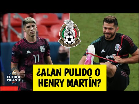 MÉXICO VS ESTADOS UNIDOS Alan Pulido y Henry Martín, las opciones del Tata Martino   Futbol Picante