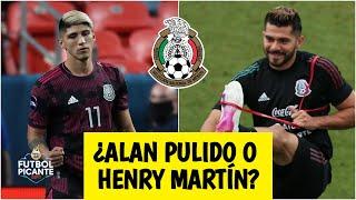 MÉXICO VS ESTADOS UNIDOS Alan Pulido y Henry Martín, las opciones del Tata Martino | Futbol Picante
