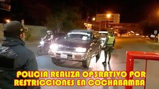 POLICIA Y PERSONAL DE LA INTENDECIA R3ALIZA CONTROL PARA DAR CUMPILIENTO CON LAS R3STRICCIONES..