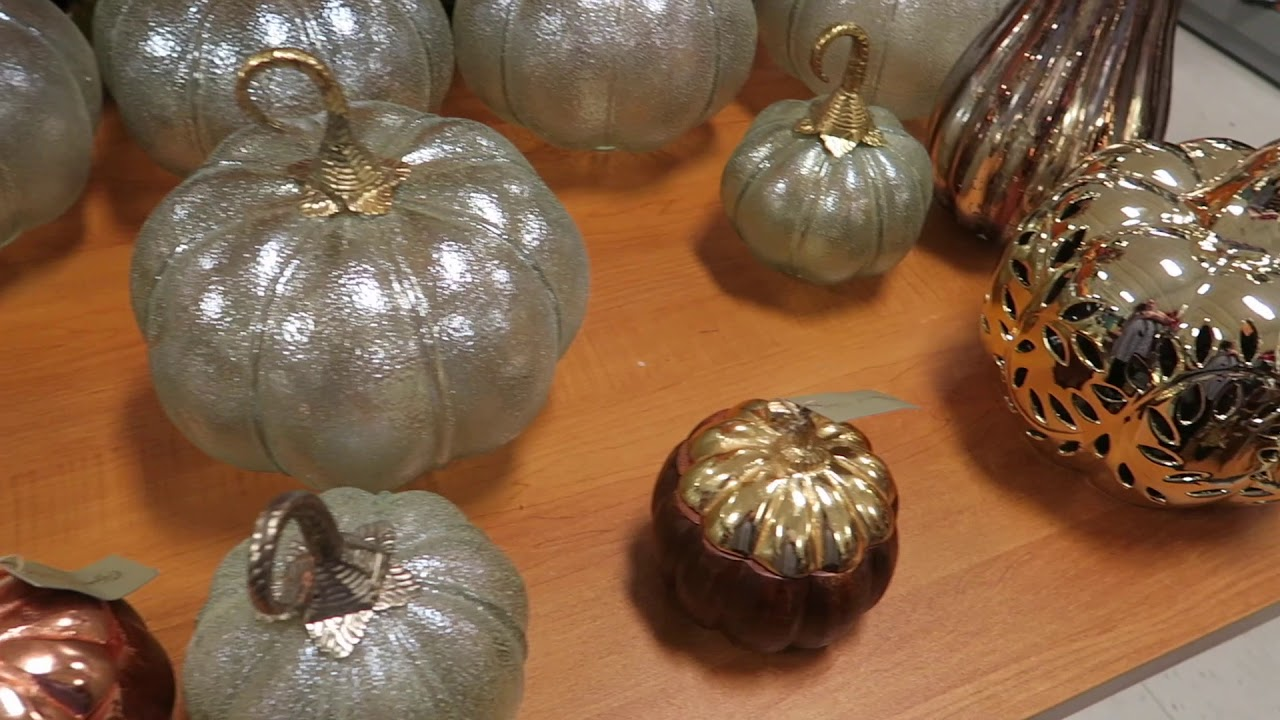 Fall/Autumn/Halloween Decor Shopping at T.J. Maxx 2017