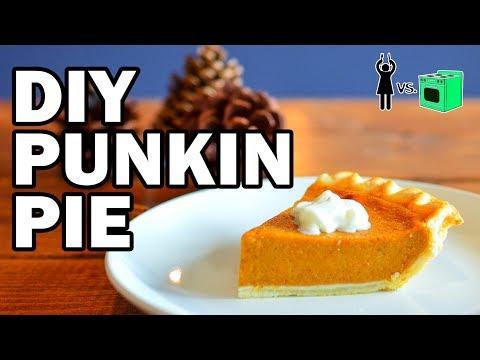 connectYoutube - DIY Punkin Pie, Corinne Vs Cooking