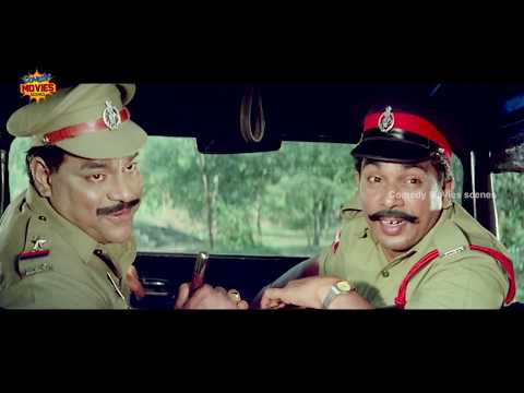 Telugu Comedy Scenes | Brahmanandam & Nagarjuna Comedy | Best Funny Videos | Hello Brother Film