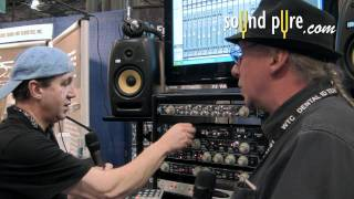 DocDerr 500-Series by Empirical Labs Vocal Demo - AES 2011