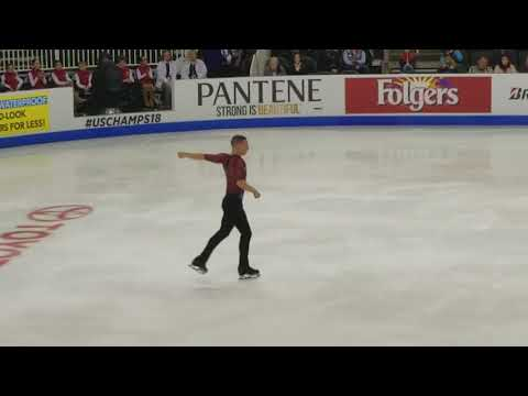 Adam Rippon - 2018 U.S. Nationals, Men's Short Program 2018.01.04