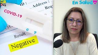 LOS DIFERENTES TIPOS DE PRUEBAS DE COVID-19 - EN SALUD CON MÓNICA GAHBLER