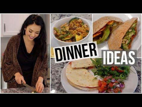 connectYoutube - 3 Yummy & Healthy Dinner Ideas!