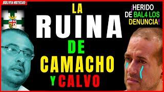 ¡FINAL DE CAMACHO Y CALVO! H3RIDO DE BAL4 DE SANTA CRUZ. PIDE CARCEL. CQM-PLICI-D4D DE FISC4LIA