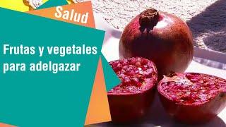 Frutas y vegetales sabios que deshinchan y adelgazan