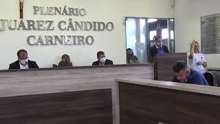 Sessão Ordinária no ano em curso realizada dia 01/12/2020