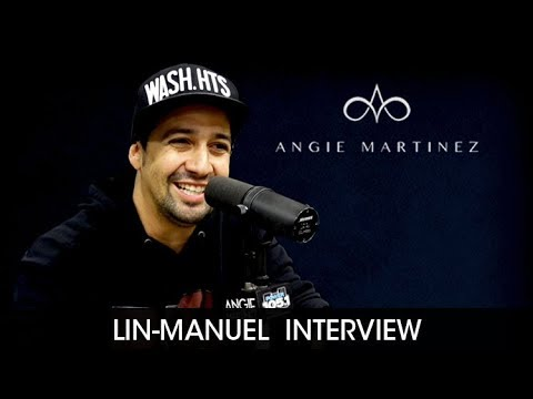 connectYoutube - Lin-Manuel Miranda Talks Trump, Throwing Up
