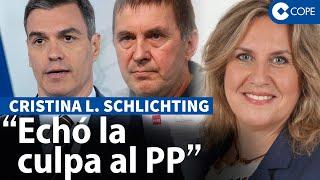"""Schlichting, sobre el """"escándalo"""" de los pactos con Bildu"""
