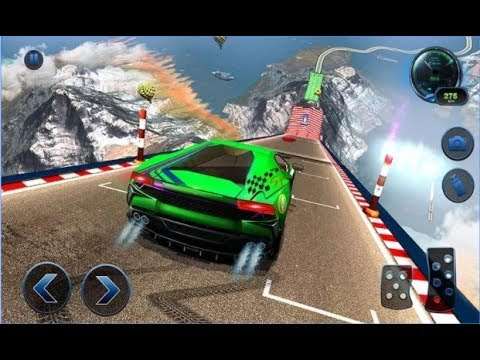 connectYoutube - Impossible Car Crash Stunts Car Racing Game / Android Gameplay Video