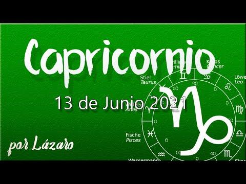 CAPRICORNIO Horoscopo de hoy 13 de Junio 2021
