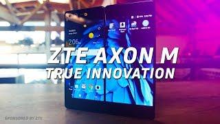 ZTE's Axon M takes multi-tasking to the next level