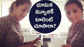 Actress Bhumika Chawla Playing Music With Piano | Bhumika Chawla Latest Video - RAJSHRITELUGU