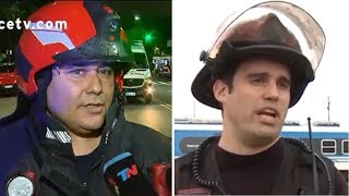 Así hablaban los bomberos muertos en Villa Crespo antes de la explosión