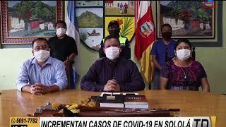 Incrementan casos de COVID-19 en Sololá