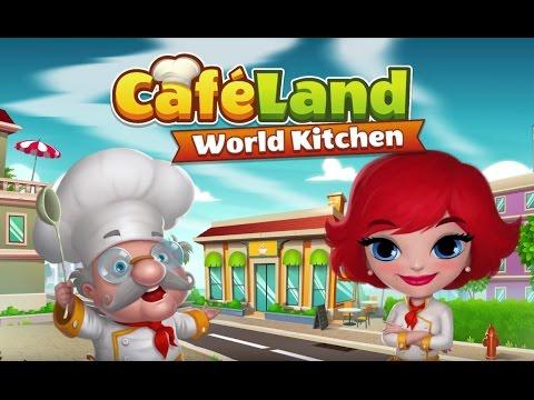 ApkMod1.Com Cafeland World Kitchen v1.9.4 + MOD (Mod Money) download free Android Casual Game
