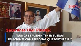 Sacerdote Eliar Pineda denuncia plan de orteguistas de emboscada en su contra