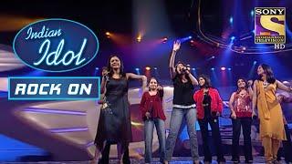 Sunidhi और Contestants की जुगलबंदी है काफी मज़ेदार | Indian Idol | Rock On - SETINDIA