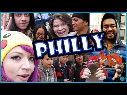 connectYoutube - PHILLY GROUDON RAIDERS & POKEMON GO!