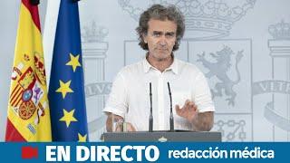 DIRECTO | Rueda de prensa de Fernando Simón, director del Centro de Alertas y Emergencias Sanitarias