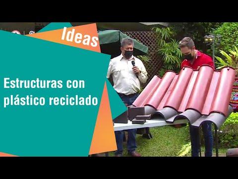 Convierten plástico reciclado en tejas   Ideas