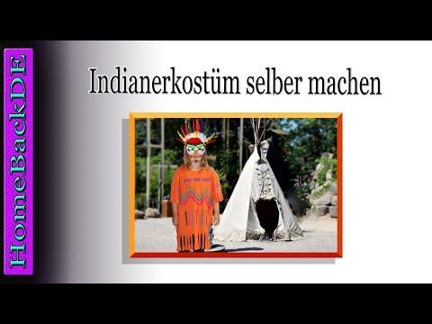 Indianerkostüm selber machen - Bastelanleitung von HomeBackDE ...