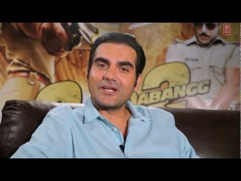Making of Dabangg 2- Arbaaz & Salman Khan