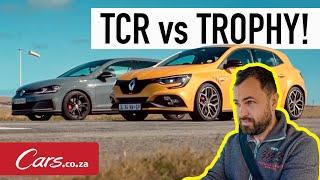 Drag Race! Volkswagen GTI TCR против Renault Megane RS300 Trophy