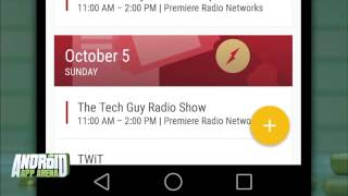 Today Calendar: Android App Arena 13