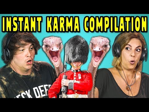 connectYoutube - ADULTS REACT TO INSTANT KARMA COMPILATION