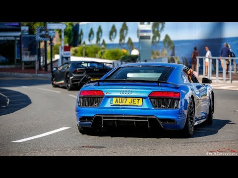 Supercars in Monaco 2017 - VOL. 10 (Veyron Pur Sang, 3x F12 TDF, George the Rolls, 1200HP 9FF,...)